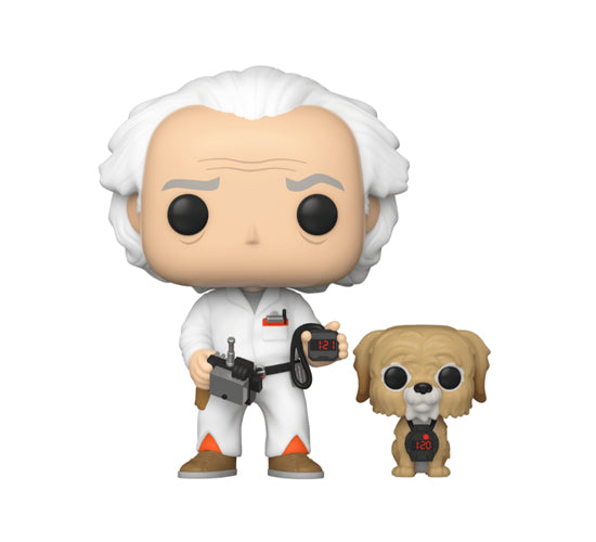 Pop! Movies Back to the Future - Doc and Einstein #972 (Walmart Exclusive) Funko Pop! Vinyl