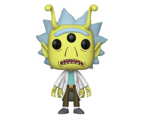 Rick and Morty - Alien Rick #337 Funko Pop! Vinyl (Spring Convention)