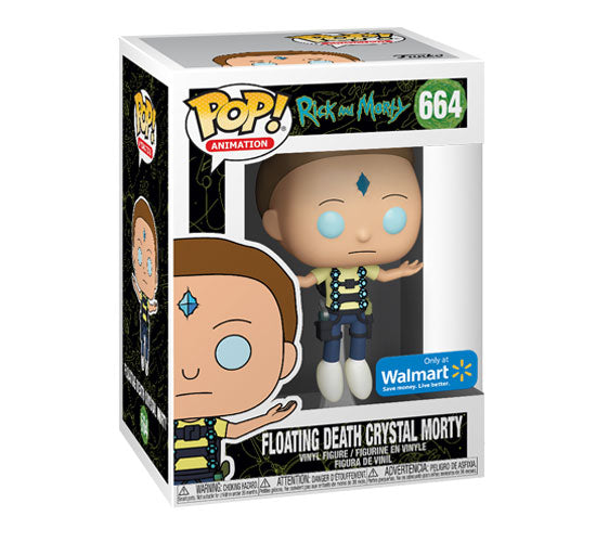 Rick and Morty - Floating Death Crystal Morty #664 (Walmart) Funko Pop! Vinyl