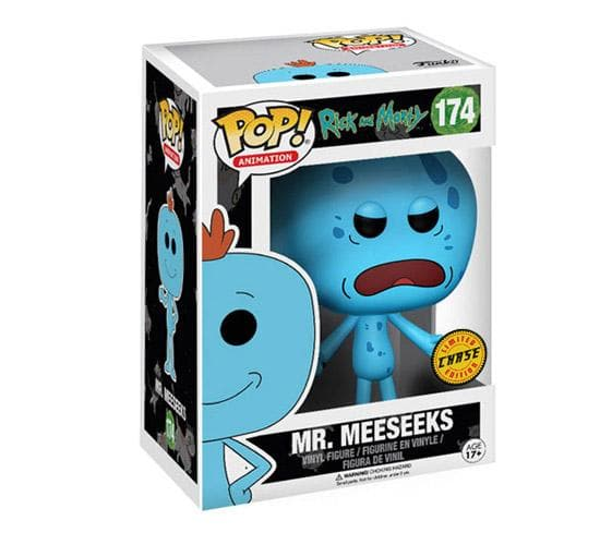 Rick and Morty - Mr. Meeseeks #174 (Chase) Funko Pop! Vinyl