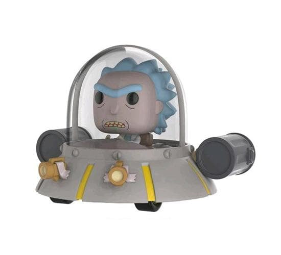 Rick/'s Ship Exclusive Pop Ride Funko Rick and Morty