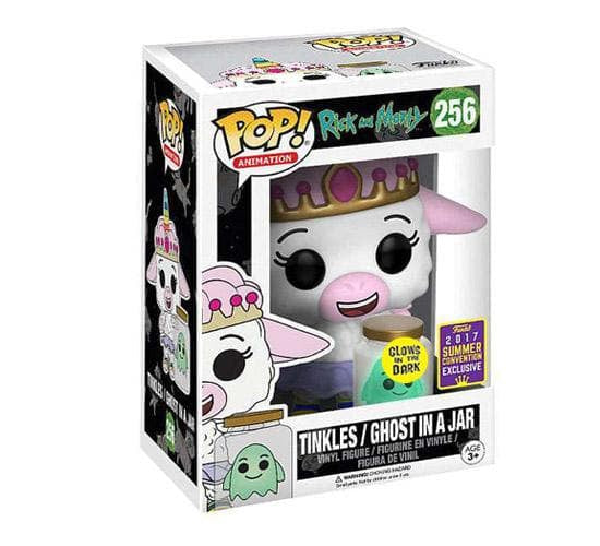 Rick and Morty - Tinkles with Ghost in a Jar #256 (SDCC 2017) Funko Pop! Vinyl