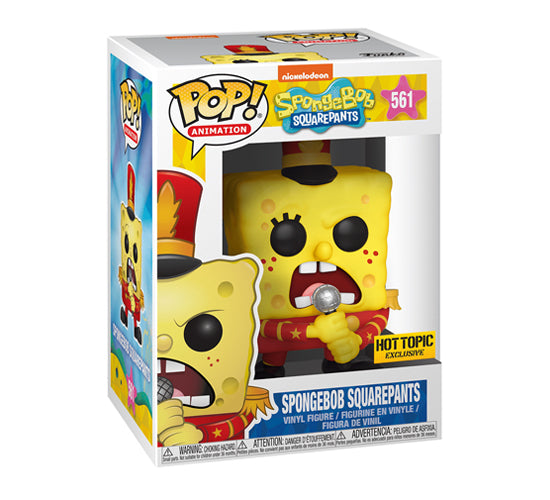 SpongeBob SquarePants - Band Uniform #561 (Hot Topic) Funko Pop! Vinyl