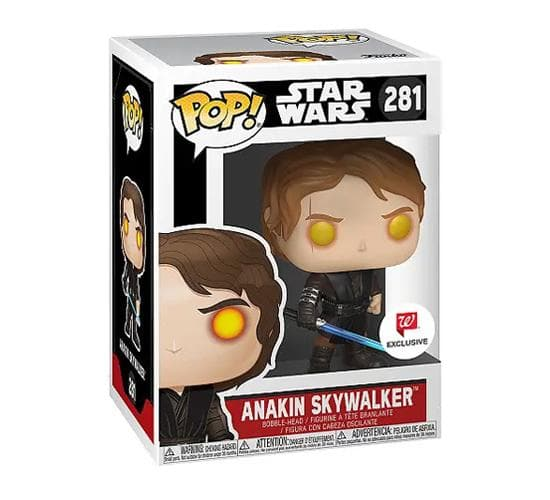 Star Wars Dark Side Anakin 281 Walgreens Funko Pop Vinyl Cultchafreak