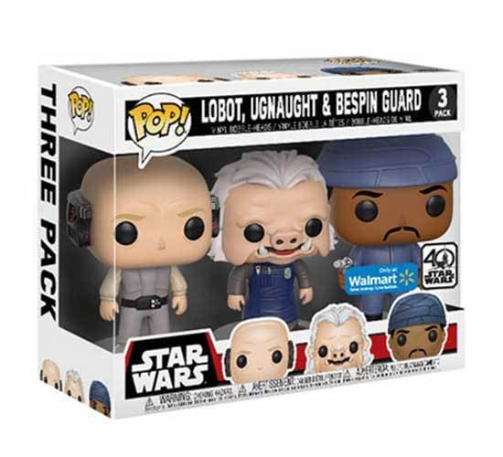 Star Wars - Cloud City 3 Pack (Walmart) Funko Pop! Vinyl