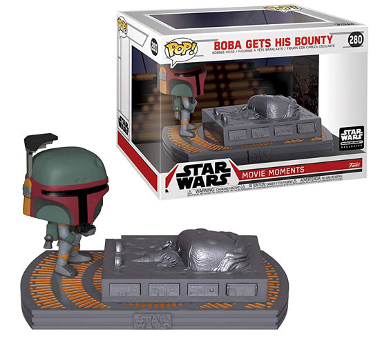 Boba Gets His Bounty #280 Funko Pop! Vinyl Movie Moment