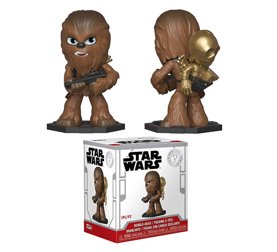 Star Wars Smuggler's Bounty Chewbacca and C3-PO Mystery Mini