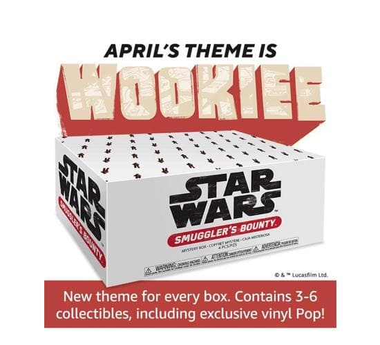 Star Wars - Smuggler's Bounty Box: Wookiee (Amazon Exclusive)