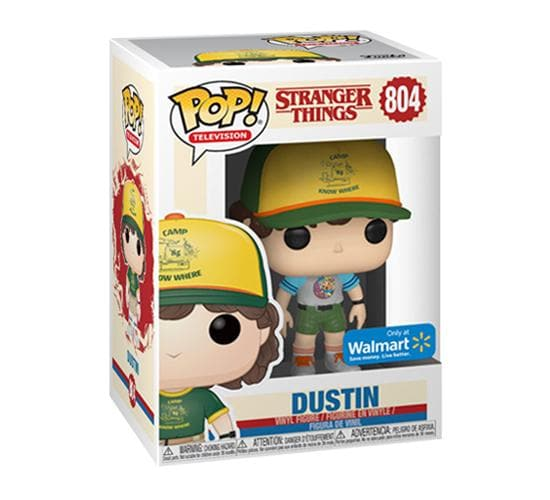 Stranger Things - Dustin at Camp #804 Funko Pop! Vinyl (Walmart Exclusive)