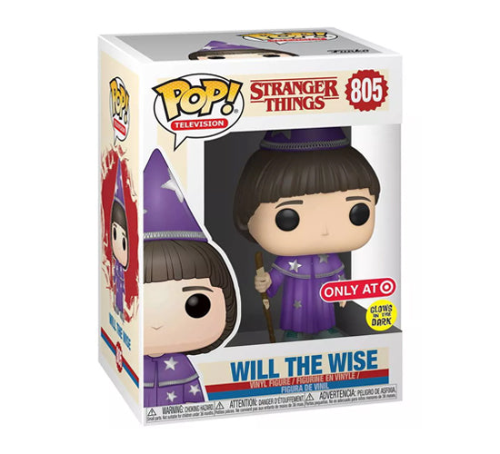 Stranger Things - Will the Wise #805 (Target Exclusive, Glow in the Dark) Funko Pop! Vinyl