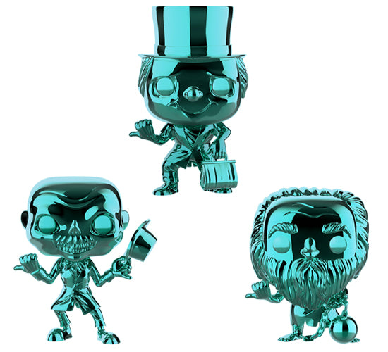 The Haunted Mansion - Hitchhiking Ghosts 3-Pack (Target Exclusive) Funko Pop! Vinyl