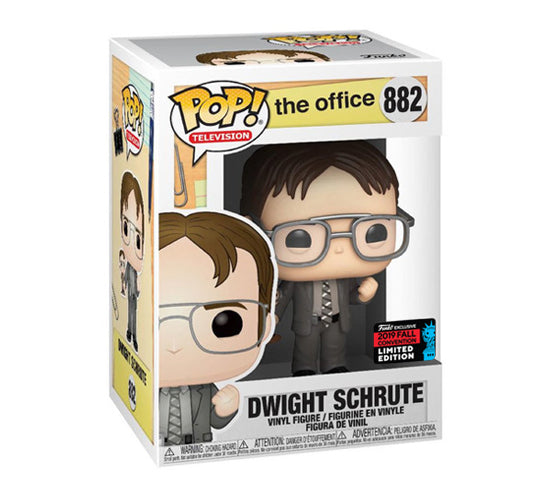 The Office: Dwight Schrute with Dwight Bobblehead #882 (2019 Fall Convention) Funko Pop! Vinyl