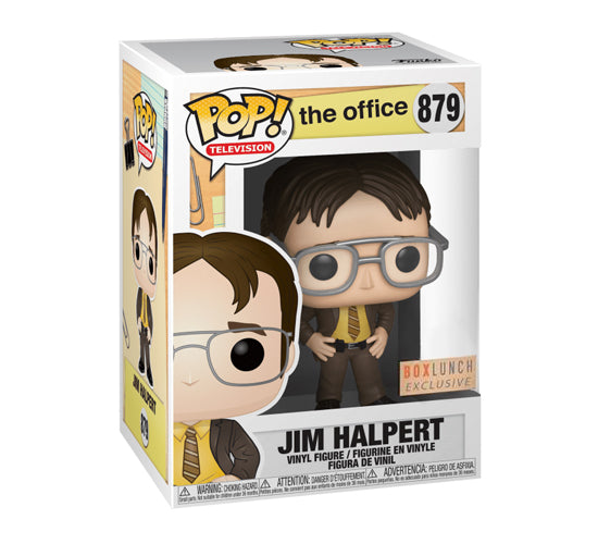 The Office: Jim Halpert as Dwight Schrute #879 (BoxLunch) Funko Pop! Vinyl