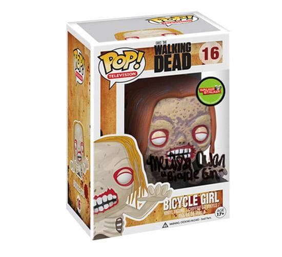The Walking Dead - Bicycle Girl #16 (Walker Stalker Signature) Funko Pop! Vinyl (Signed by Melissa Cowan)