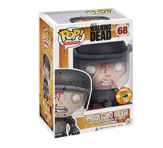 The Walking Dead - Prison Guard Walker (SDCC 2013, Bloody) #68 Funko Pop! Vinyl