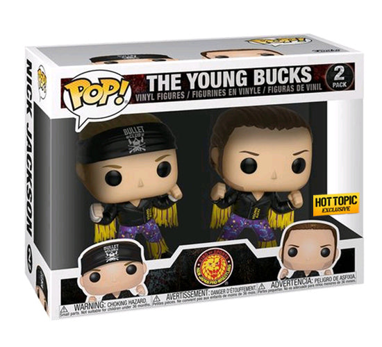 Bullet Club: The Young Bucks 2-Pack (Hot Topic) Funko Pop! Vinyl