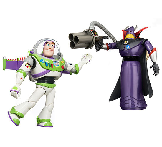Disney-Pixar's Toy Story - Buzz Lightyear and Emperor Zurg 2-Pack