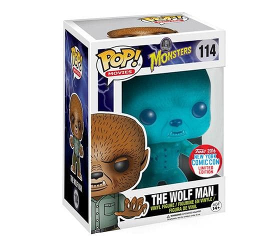 Universal Monsters - The Wolf Man #114 (NYCC 2016) Funko Pop! Vinyl