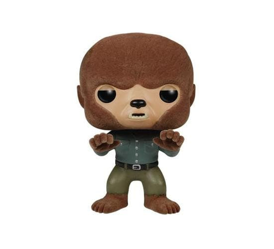 Universal Monsters - The Wolf Man #114 (SDCC 2015, Flocked) Funko Pop! Vinyl