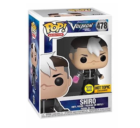 Voltron: Legendary Defender - Shiro #478 GITD (Hot Topic) Funko Pop! Vinyl