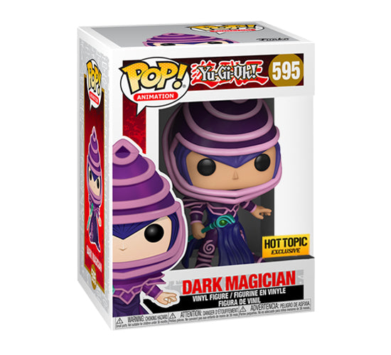 Yu-Gi-Oh! Dark Magician #595 (Hot Topic) Funko Pop! Vinyl
