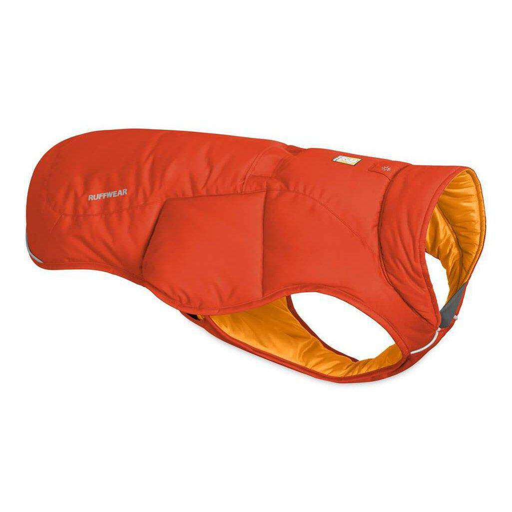Ruffwear Quinzee Dog Jacket-Dog Coats-Ruffwear-Xxs-Sockeye Red-Dofos Pet Centre