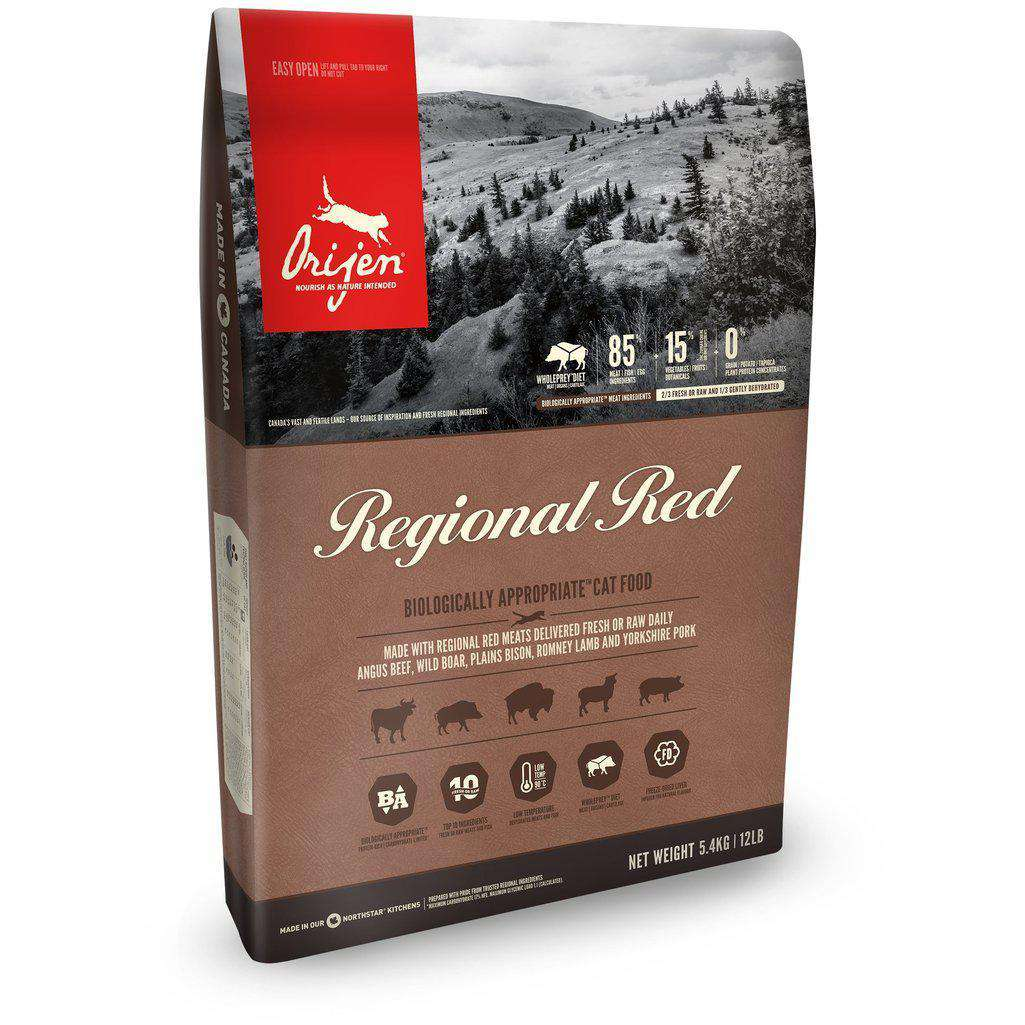 Orijen Regional Red Grain Free Dry Cat Food-Cat Dry Food-Orijen-340g-Dofos Pet Centre