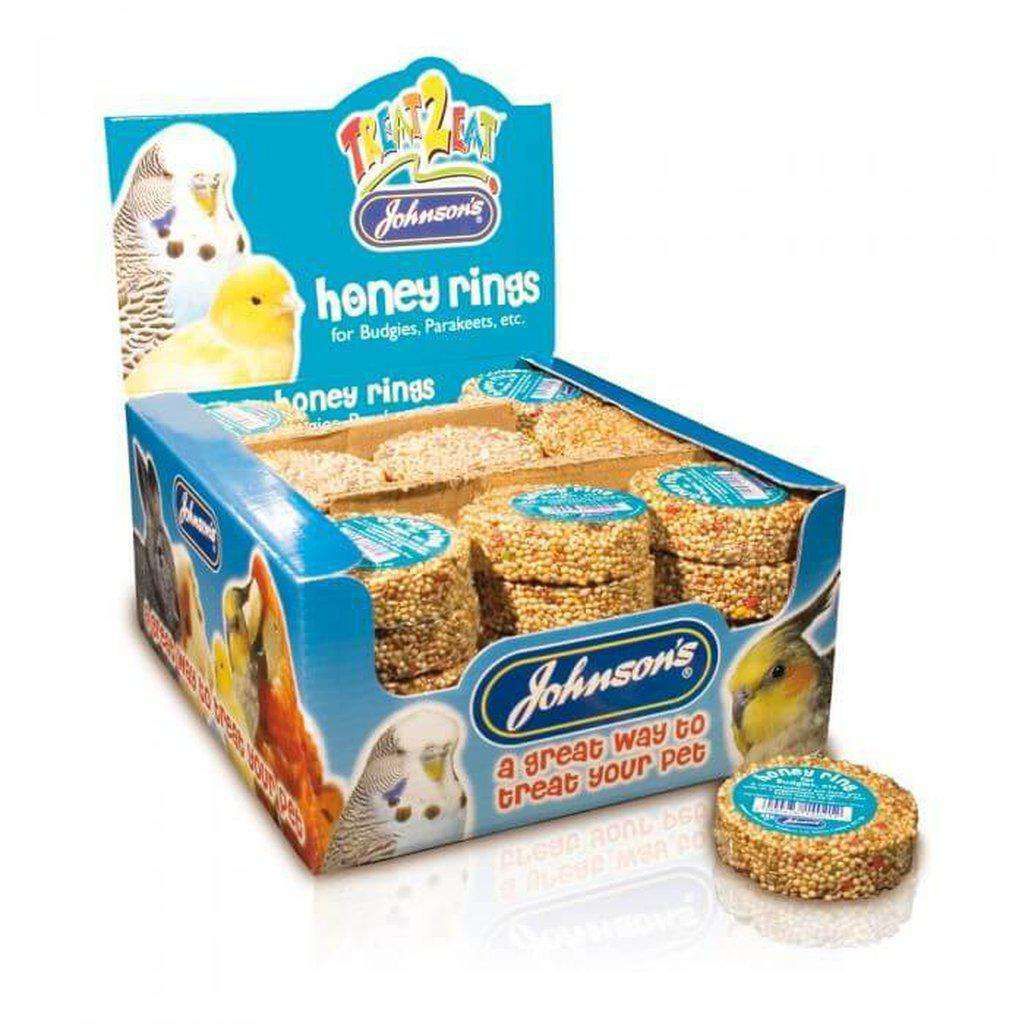 Johnson's Honey Ring 25g-Bird Treats-Johnson's-Dofos Pet Centre