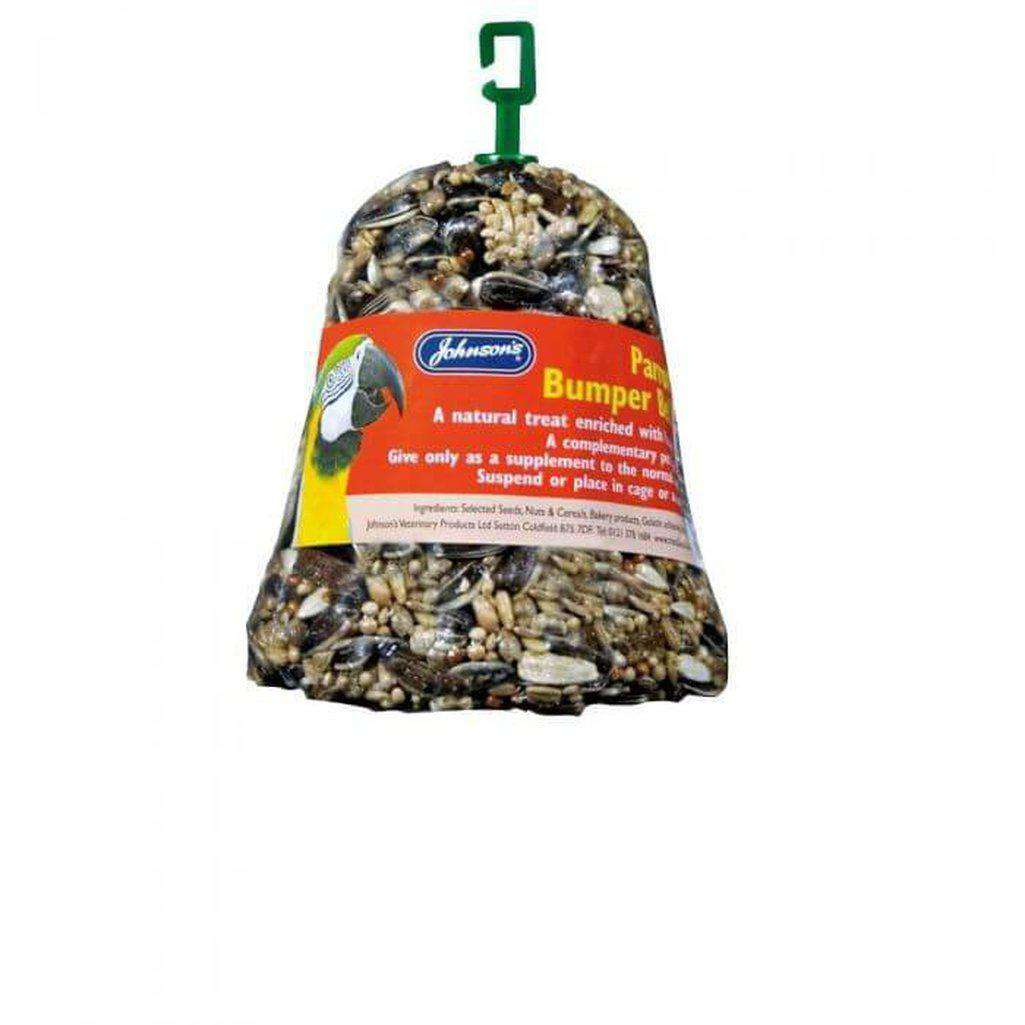 Johnson's Parrot Bumper Bell 150g-Bird Treats-Johnson's-Dofos Pet Centre