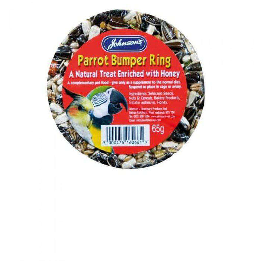 Johnson's Parrot Bumper Ring 65g-Bird Treats-Johnson's-Dofos Pet Centre