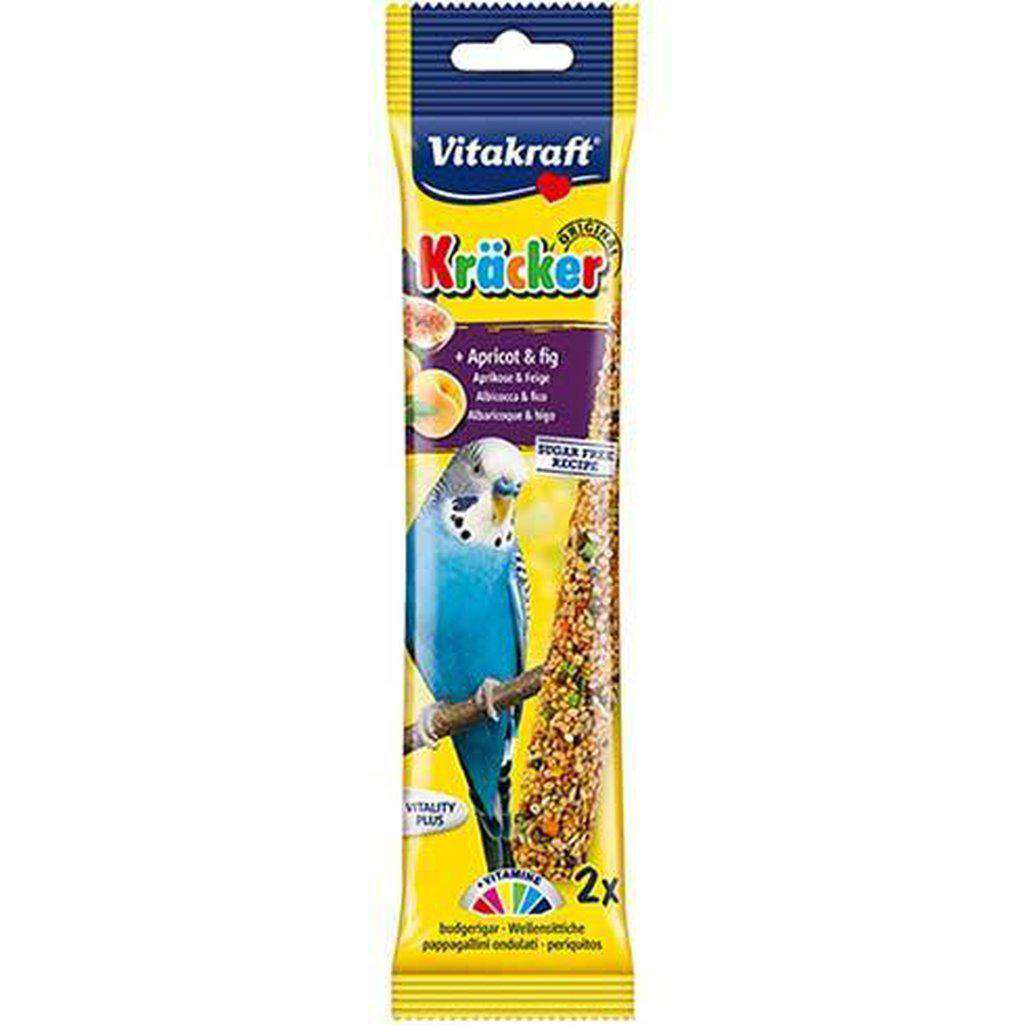 Vitakraft Parakeet Apricot & Fig Sticks 60g-Bird Treats-Vitakraft-Dofos Pet Centre