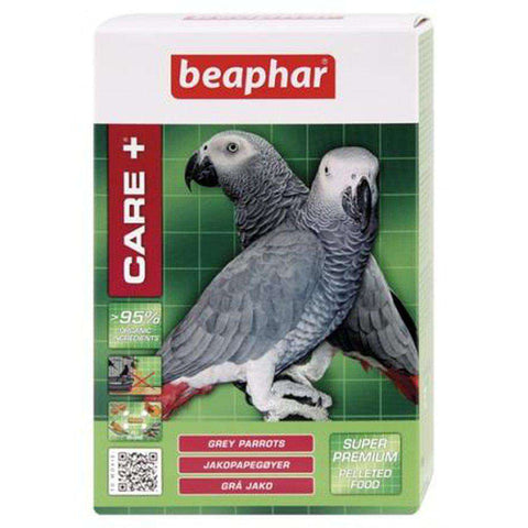 Beaphar Care+ Grey Parrot Pellets 1kg