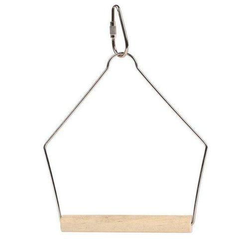 The Bird House Wooden Swing