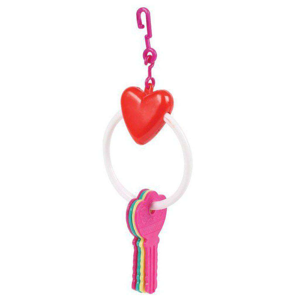 The Bird House Key Ring Bird Toy-Bird Toys-happy pet-Dofos Pet Centre