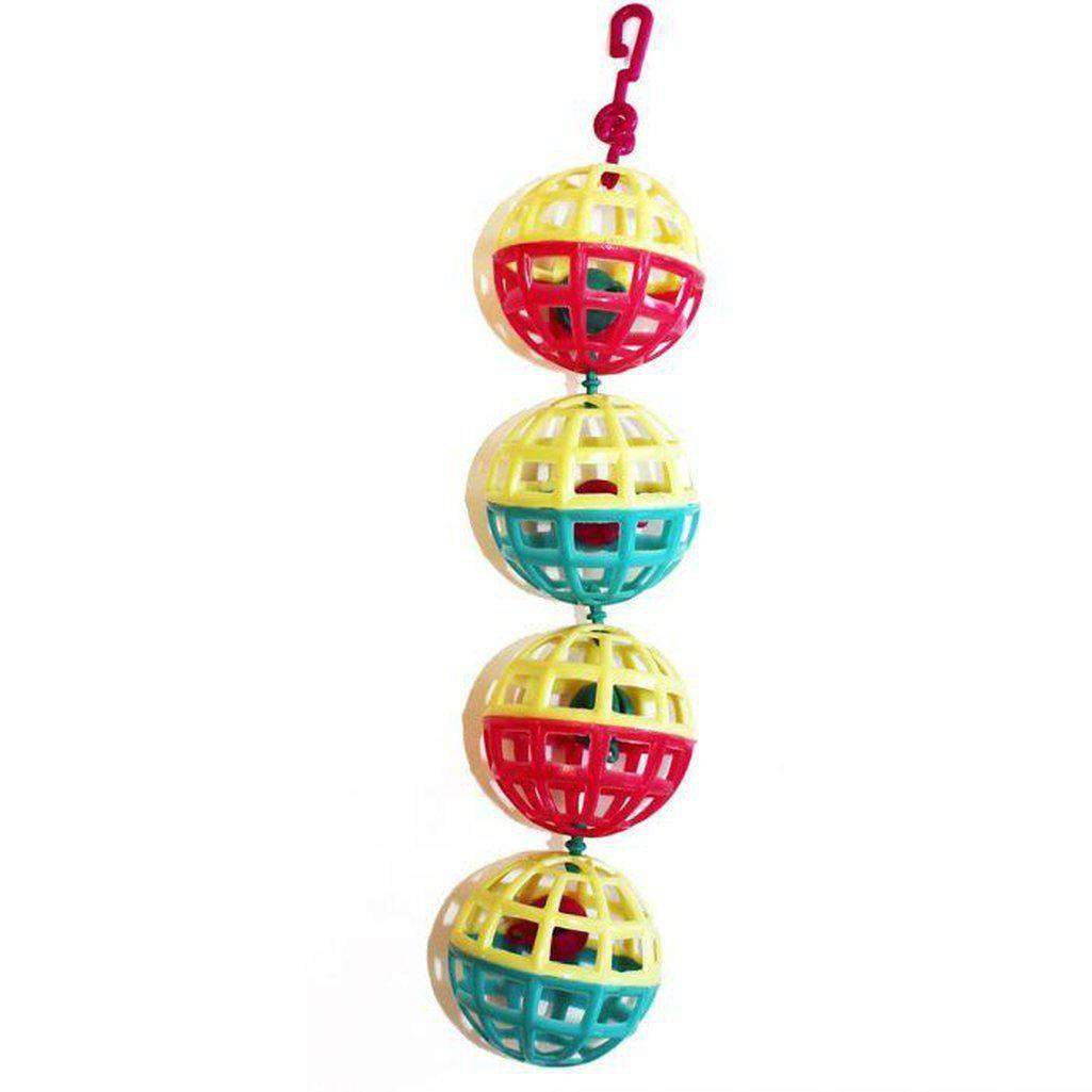 The Bird House Multi Ball Bird Toy-Bird Toys-happy pet-Dofos Pet Centre