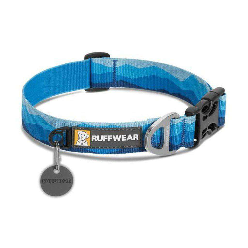 Ruffwear Hoopie Dog Collar - Multiple Sizes Available-Dog Collar-Ruffwear-S-Blue Mountains-Dofos Pet Centre