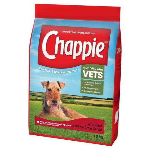 Chappie Complete Beef & Wholegrain Cereal Dog Food