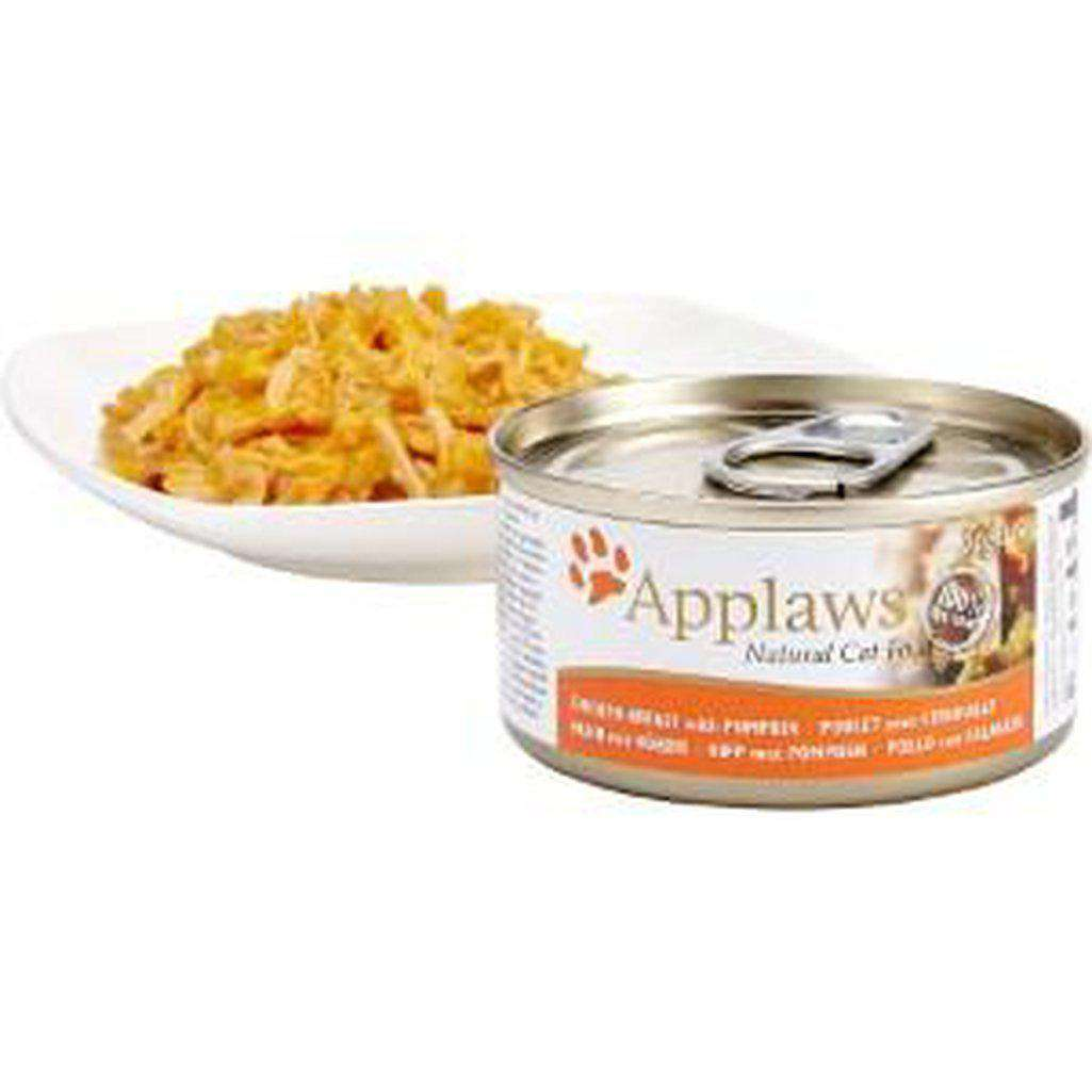 Applaws Chicken Breast with Pumpkin Cat Wet Food-Cat Wet Food-Applaws-70g-Dofos Pet Centre