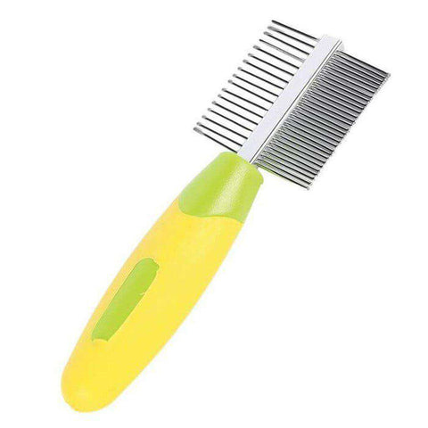Small Animal Grooming Double Sided Comb