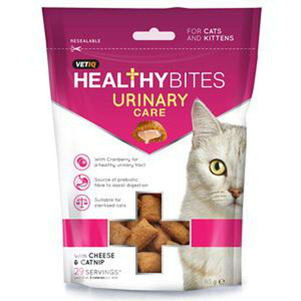 VetIQ Healthy Bites Urinary Care Cat Treats 65g-Cat Treats-Vet iq-Dofos Pet Centre