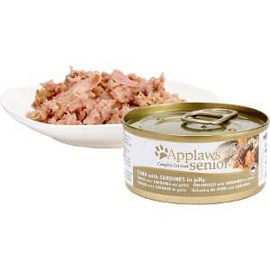 Applaws Tuna With Sardine Senior Wet Food 70g In Jelly-Cat Wet Food-Applaws-70g-Dofos Pet Centre