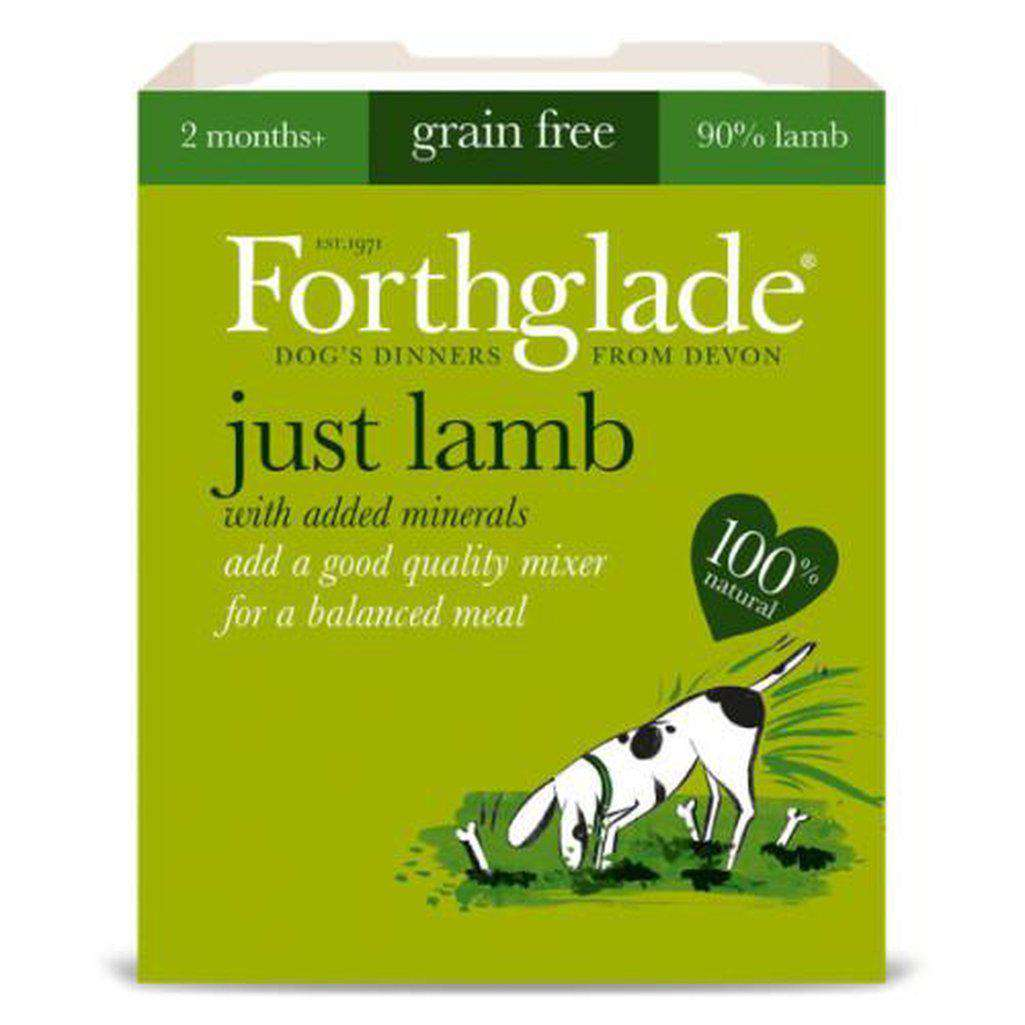 Forthglade Just Lamb Wet Dog Food 395g-Dog Wet Food-Forthglade-Dofos Pet Centre