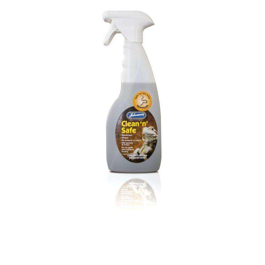 Johnsons Reptile Clean 'n' Safe Disinfectant 500ml