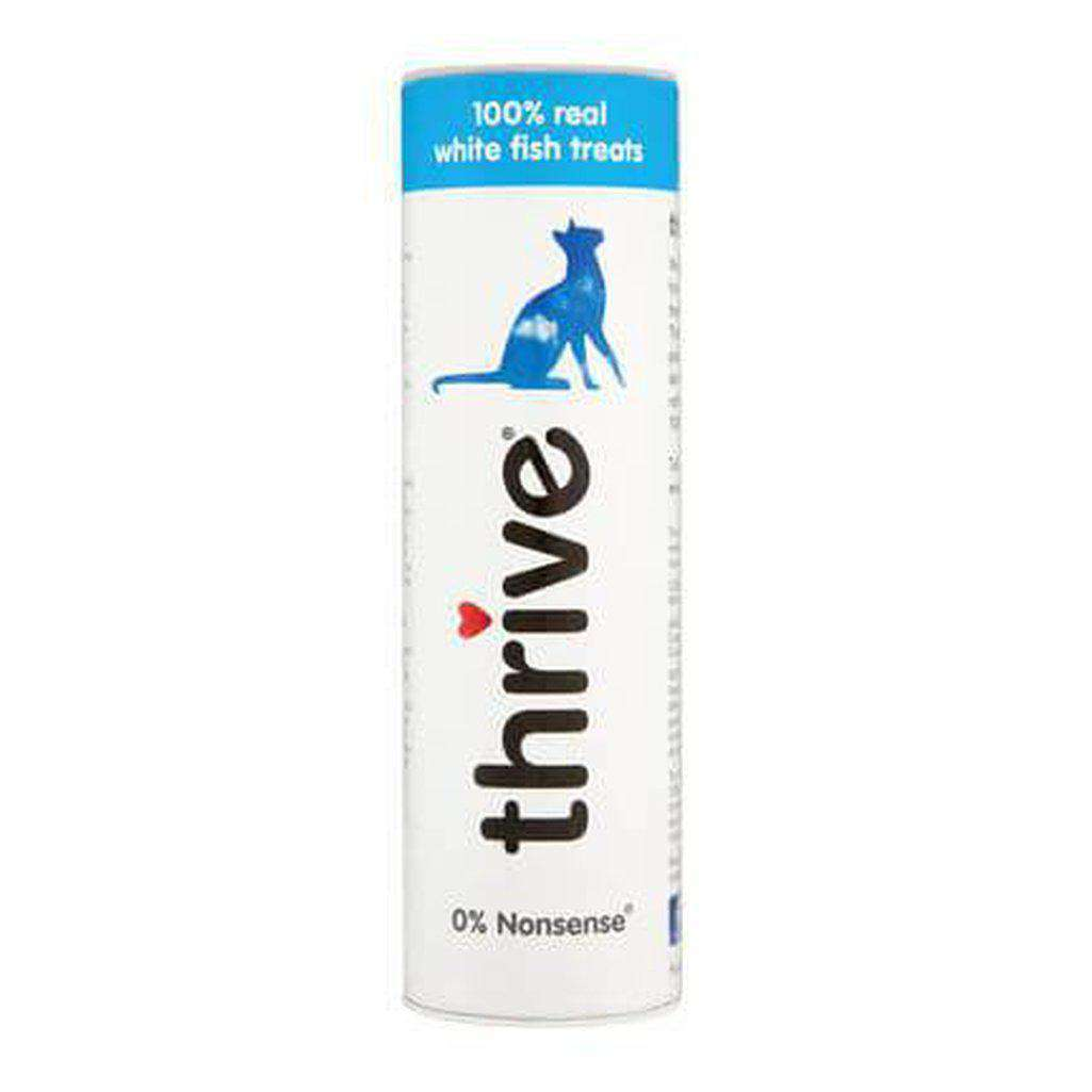 Thrive 100% White Fish Cat Treats 15g-Cat Treats-Thrive-Dofos Pet Centre