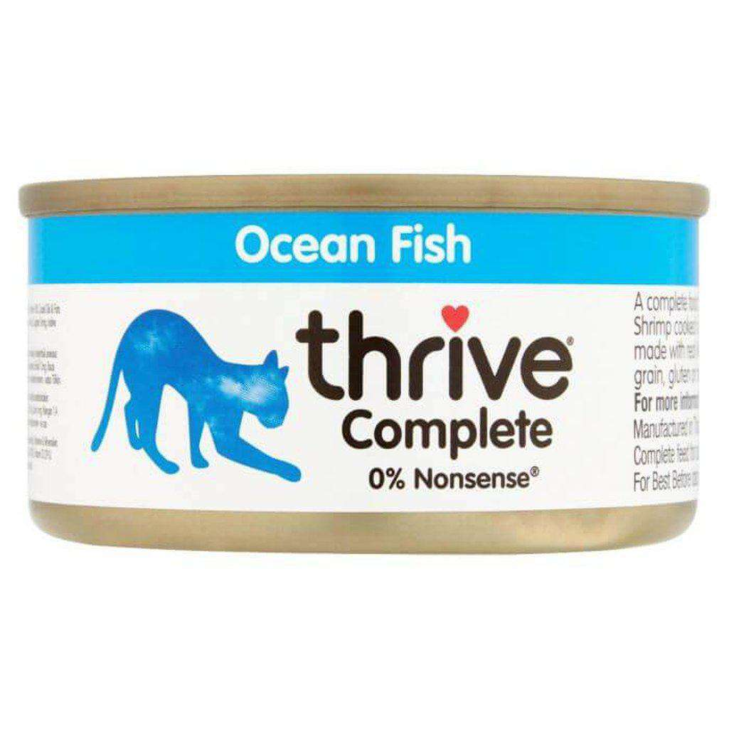 Thrive Complete Ocean Fish Wet Cat Food 75g-Cat Wet Food-Thrive-Dofos Pet Centre