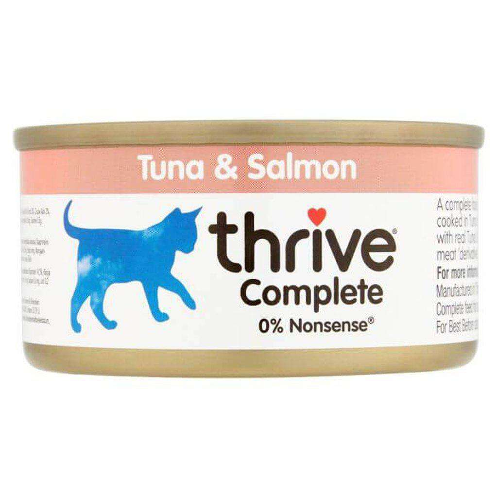 Thrive Complete Tuna With Salmon Wet Cat Food 75g-Cat Wet Food-Thrive-Dofos Pet Centre