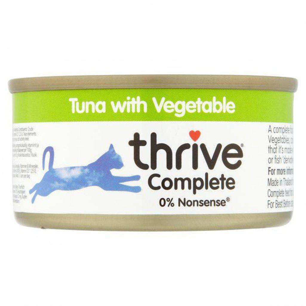 Thrive Complete Tuna with Vegetable Wet Cat Food 75g-Cat Wet Food-Thrive-Dofos Pet Centre
