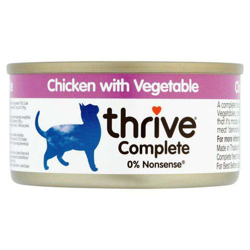 Thrive Complete Chicken With Vegetable Wet Cat Food 75g-Cat Wet Food-Thrive-Dofos Pet Centre