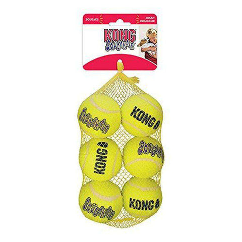 KONG Air Dog Squeakers Tennis Balls