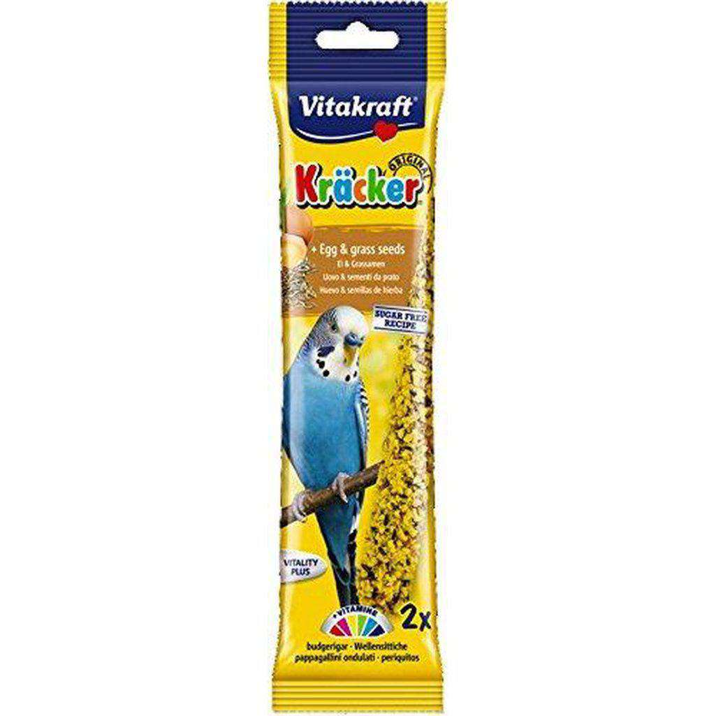 Vitakraft Parakeet Egg Sticks 60g-Bird Treats-Vitakraft-Dofos Pet Centre